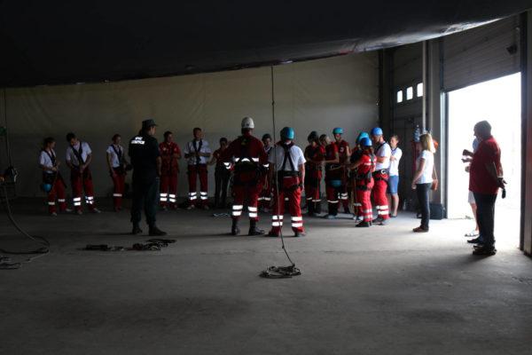 Пятая международная школа по ЧС и розыску Белорусского Общества Красного Креста